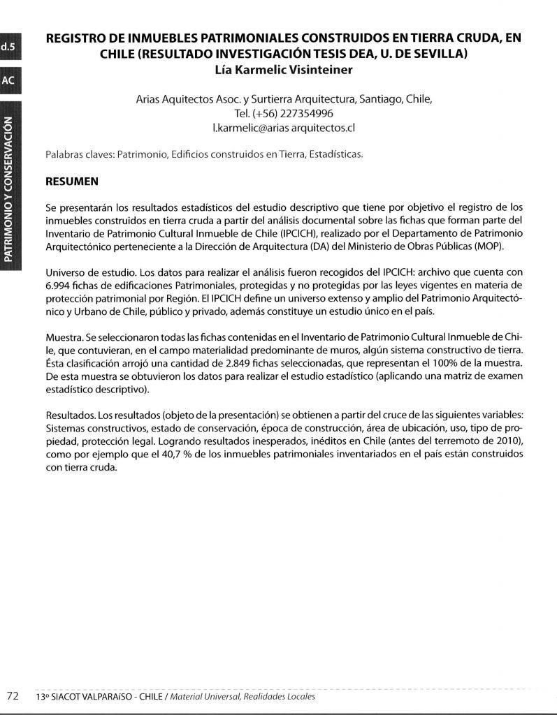 Surtierra ARQUITECTURA » Artículos/Investigación